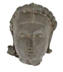 Stone Head, India, About 19. Century