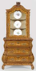 Baroque-Top Chest Of Drawers