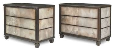 Pair of exceptional Design chests of drawers