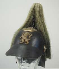 Hessen: helmet for men of the palace guard.