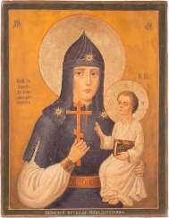 ICON OF THE MOTHER OF GOD ', THE WINNING ARMY LEADER' (WZBRANNOY WOEWODE POBEDITEL WELL)