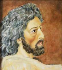 "The painting ""John the Baptist"" Isachev A. A. 1979."