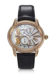 AUDEMARS PIGUET, MILLENARY, 18K PINK GOLD & DIAMONDS, REF 77247OR