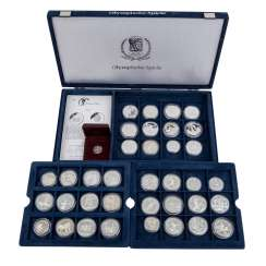 Olympic games - More box with 36 coins,