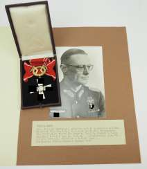 Finland: order of the freedom cross, 1941, 2. Class with swords, in a case.