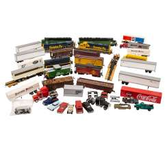 ATLAS / LIMA / WIKING, among other things, a lot of locomotives, freight wagons, etc. Model vehicles, gauge H 0,