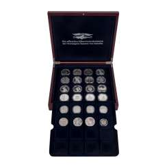 USA - The official silver commemorative coins