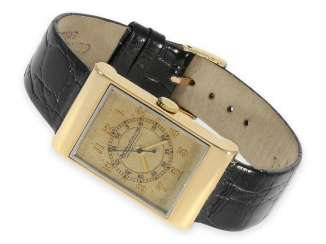 Watch: extremely rare vintage Jaeger-LeCoultre men's watch with special case