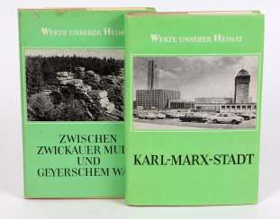 Karl-Marx-Stadt, and Between the Zwickauer Mulde u. Geyerschem forest