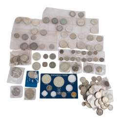 Silver Coins All Over The World,