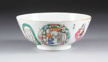 BOWL WITH FIGURAL REPRESENTATIONS China
