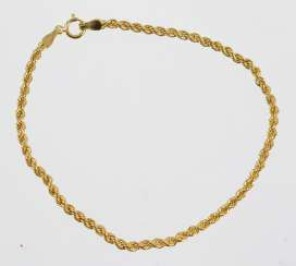 Cord Bracelet - Yellow Gold 375