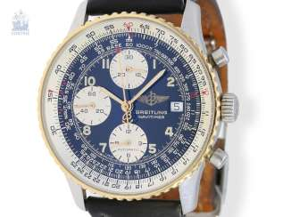 Wrist watch: high quality Chronograph, mens Breitling