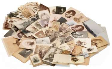 A LARGE COLLECTION OF LARGE AND SMALL PHOTOGRAPHS