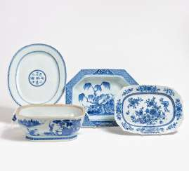 Tureen and three large panels