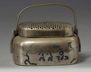 China 19th century brass Hand warmer
