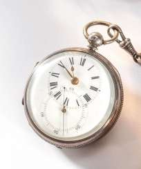English Spindle Pocket Watch