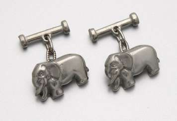 Pair of Mark Stephen Marengo cufflinks, London