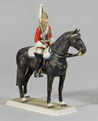 British soldier on horseback