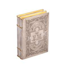 Cigar box in book form