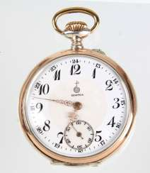 *Centra* Mens Pocket Watch Silver 800