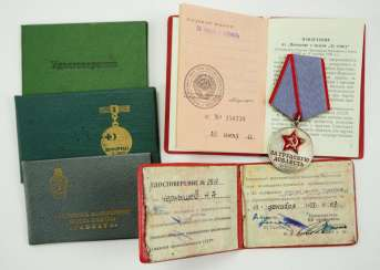 Soviet Union: estate of a worker.