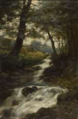 French painter: Wildbach