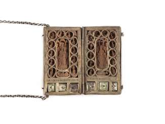 RARE RELIQUARY DIPTYCH WITH THE MOTHER OF GOD AND CHRIST