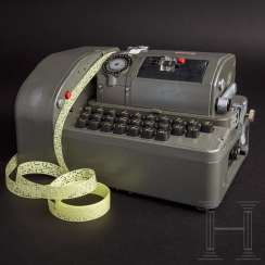 "Cipher machine BCX-62b / RT: CX-52 / RT, upgraded with the ""electric keyboard"" B-62b"