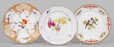 Three Collection Plates