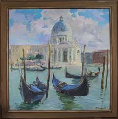 Venice. The Cathedral of Santa Maria della Salute.