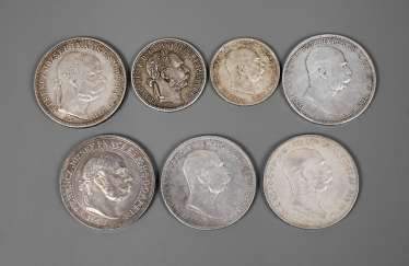 Mixed Lot Silver Coins Austria-Hungary