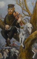 Fiddler on the tree