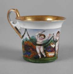 Classical Cup with putti