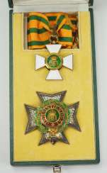 Luxembourg: order of the oak crown, 2. Model (since 1858), Grand officer set, in case.