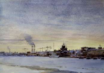 View on Vasilevsky