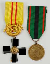Finland: order of the freedom cross, without the year number, 3. Class with swords.