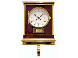 Table clock/wall clock: very rare and large Jaeger Le Coultre Atmos model