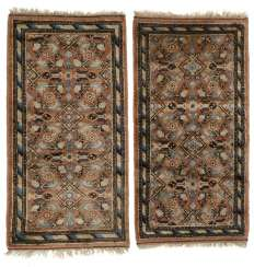 Couple of rugs wool Khotan pattern