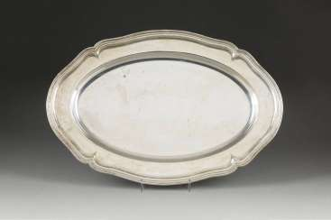 LARGE SILVER PLATE