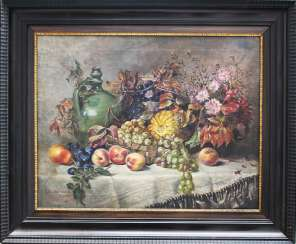 Artist 20.century, still Life, oil canvas, framed