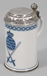 Cover pitcher with the Saxon coat of arms