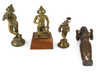 Group Of Four Bronzes,