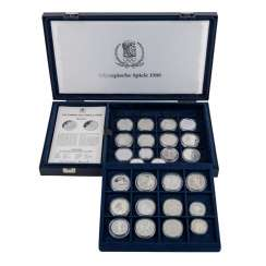 Olympic games - box 26 of the coin,
