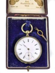 Key, pocket watch, around 1880 silver