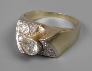 Ladies ring with brilliants