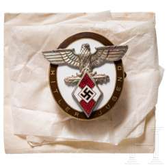 Badge of honour of the HJ Reich youth leadership can be earned by foreigners