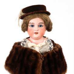 Elegant doll lady with head voice, ARM