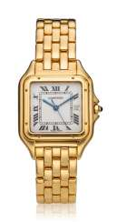 CARTIER, PANTHERE, 18K GOLD, LADIES' BRACELET WATCH