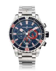 ULYSSE NARDIN, STEEL, DIVER CHRONOGRAPH, MONACO LIMITED EDITION No. 41/100